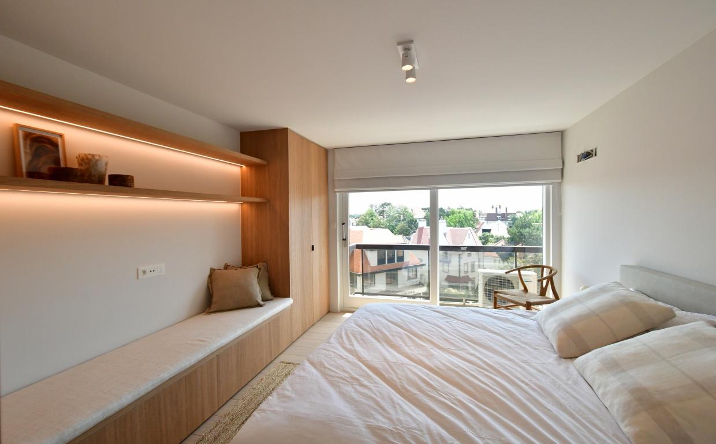 slaapkamer design, mix projects, knokke, vastgoedstyling
