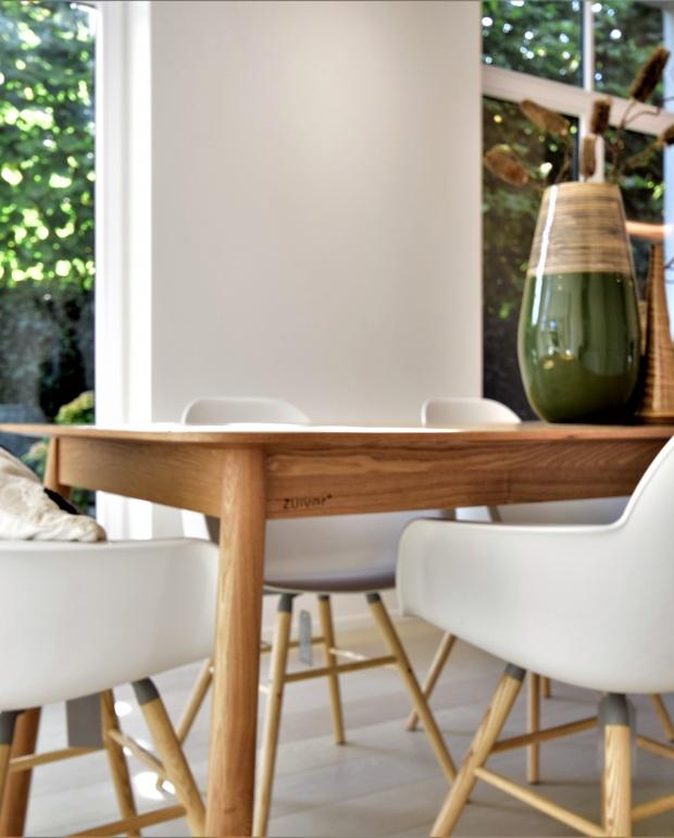 zuiver, storm tafel, albert kuipstoel wit, scandinavisch interieur, vastgoedstylist, casanova vastgoedstyling