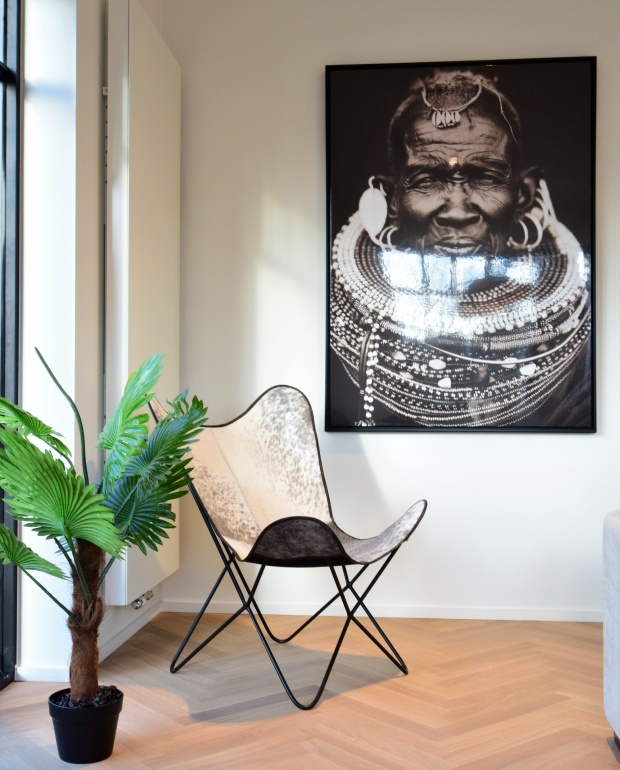 urban chic, africa canvas, luxe interieur