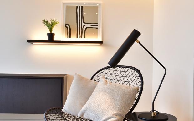 Appartement, vastgoedstyling, luxueus wonen, Brussel, casa nova